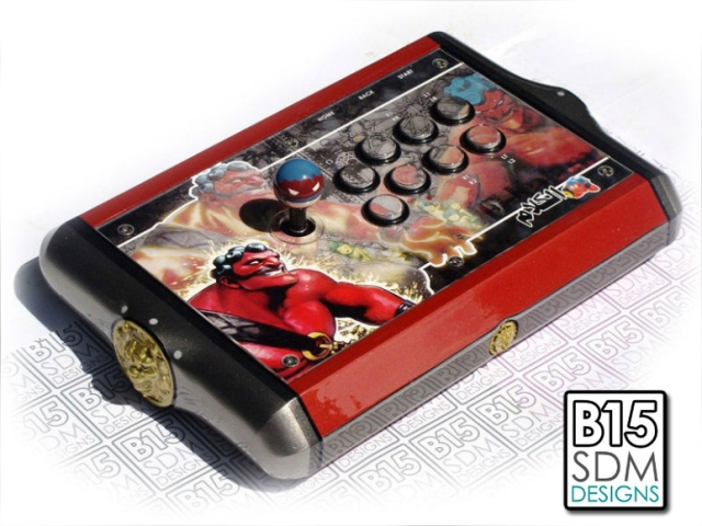 A dedication to creating a truly outstanding design results in beautiful works like this custom Hakan stick.